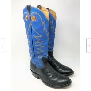 BOWMAN'S WILSON Handcrafted Cowboy Boots 8.5